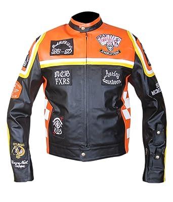 Harley Davidson And The Marlboro Man Jacket Bike