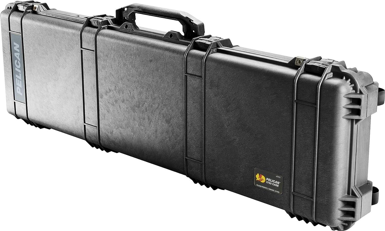 Pelican 1750 Rifle Case With Foam Black