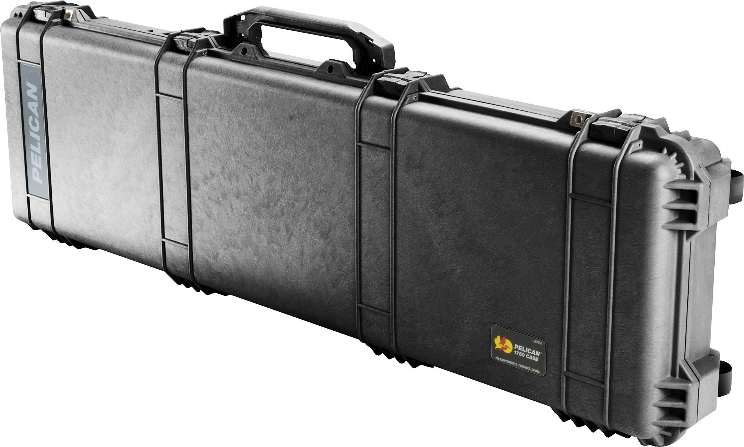 Estuche : Pelican 1750 Para Rifle Con Espuma Negro