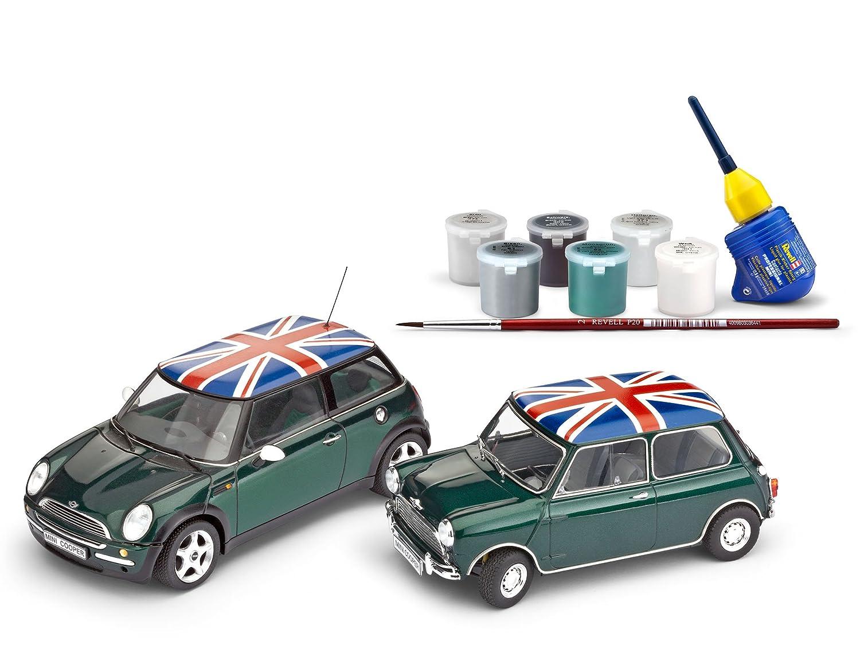 Revell Modellbau 05795 - Mini Mini Mini Cooper Gift Set im Maßstab 1:24 0c490e