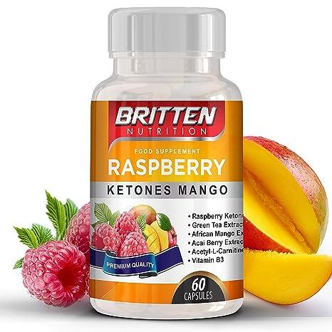 Frambuesa Ketone Mango | De alta resistencia 5000MG | Plan de la dieta libre Ebook |