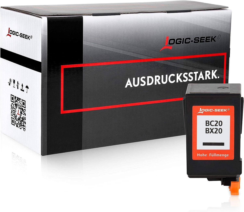 Cartucho de tinta para Canon BC-20/Bx20 – Negro, compatible: Amazon.es: Oficina y papelería