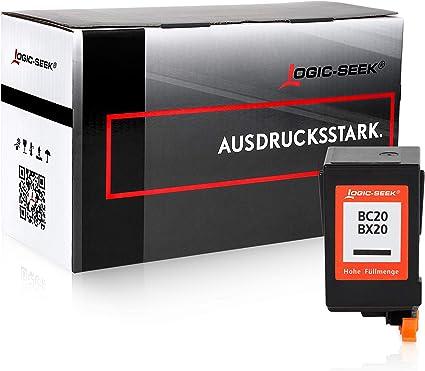 Cartucho de tinta para Canon BC-20/Bx20 – Negro, compatible ...