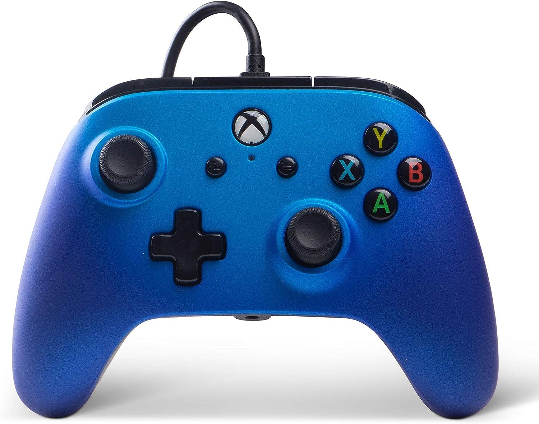 Mando Con Cable Mejorado Zafiro se desvanecen (Xbox One): Amazon.es: Videojuegos