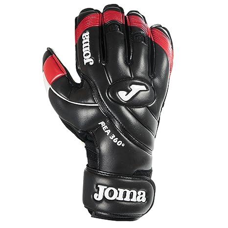 839803c47f Amazon.com : Joma Area 360º Black-RED Goalkeeper Gloves Uniforms ...