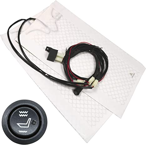 Voiture professionnel voiture siège chauffant universel Kit Carbone technologie Ford