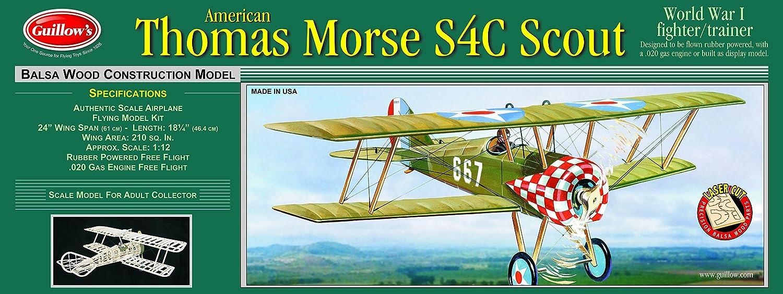 Guillows Thomas Morse Scout Laser Cut Model Kit