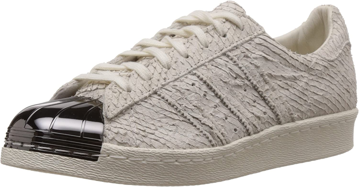 Diariamente África Siempre  adidas Superstar 80s Metal Toe, Off White-Off White-core Black, 12:  Amazon.co.uk: Shoes & Bags