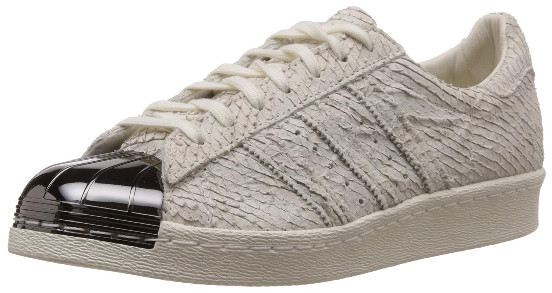 adidas originals frauen - superstar der weißen und schwarzen aus metall.