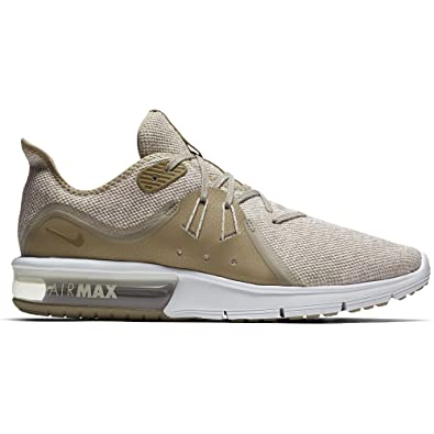 release date 92bcf eb53a Nike Air Max Sequent 3, Chaussures de Running Compétition Homme,  Multicolore (Desert Sand