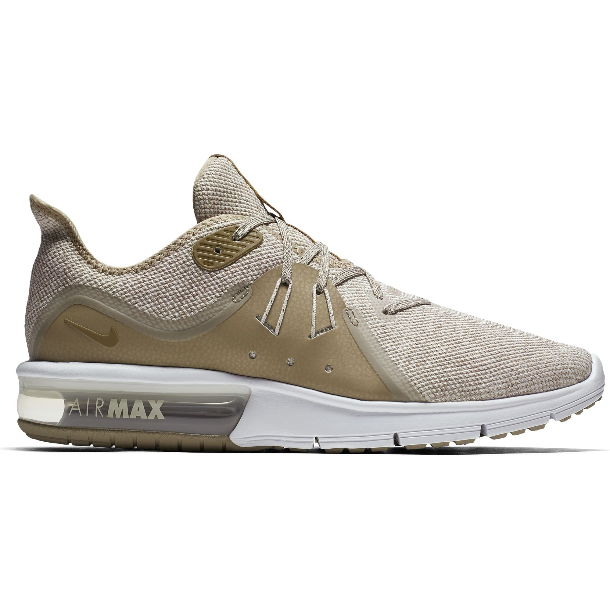 527a90fb7b7 Galleon - Nike Men s Air Max Sequent 3 Running Shoe Desert Sand Lichen  Brown Khaki White Size 9 M US