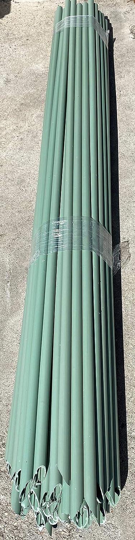 Tutor arbol sintetico pvc 20 mm 1,5 metros de altura con punta Material de larga duracion Ideal para arboles y plantas de crecimiento lento 50 uds