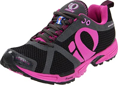 Pearl iZUMi Women's Peak II Running Shoe,Black/Electric Purple,5.5 ...