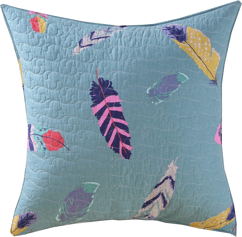 Greenland Home Dream Catcher Pillow Sham, Euro, Teal