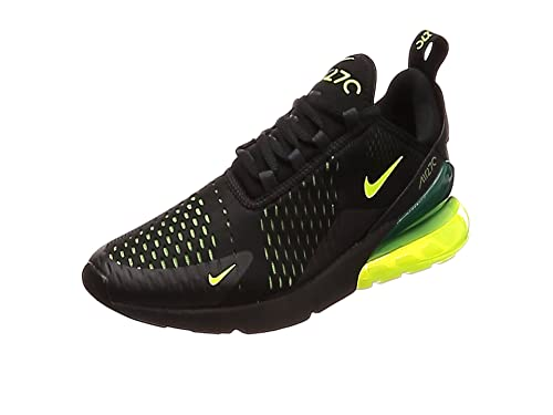 best service a696c d821f Nike Air Max 270, Chaussures de Running Homme, Blanc Black-White 100,