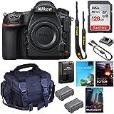 Nikon D850 DSLR Camera (Body Only) || 45.7MP FX-Format || 4K UHD Video || Wi-Fi with Padded Shoulder Case, Photo & Video…