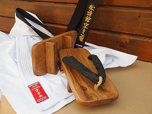 4dd2d9a31e70 Kamikaze Traditional Cedar Geta From