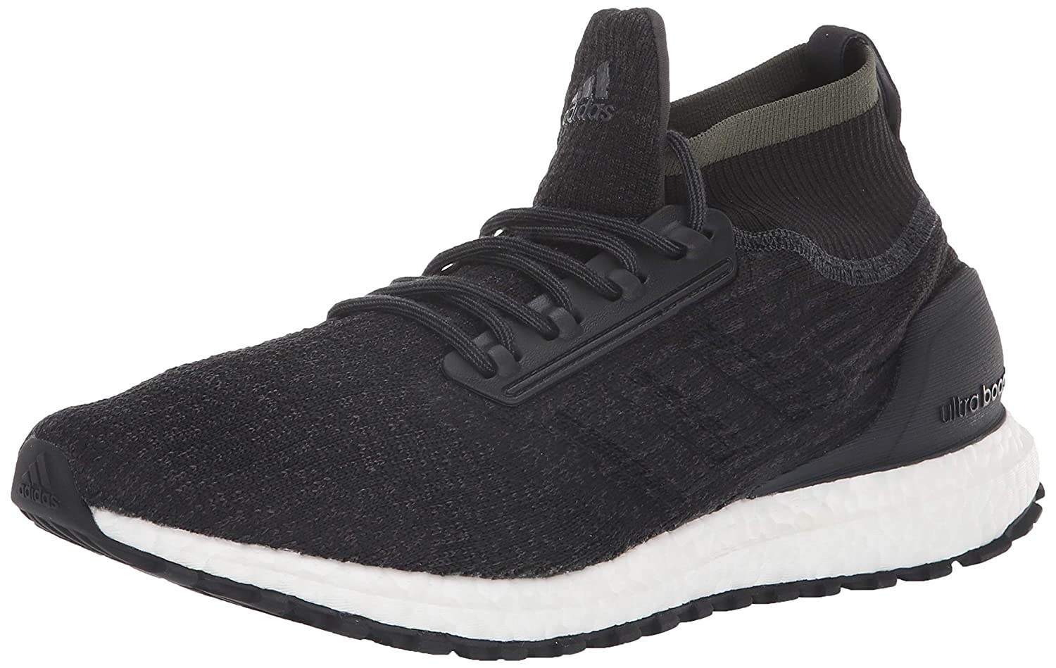 Carbon Black White Adidas Men's Ultraboost All
