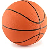 "Mini Rubber 7"" Basketballs 4-Pack by PlayTime"