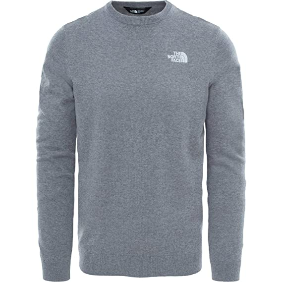 Medium Grey Heather All Sizes The North Face Mc Knit Mens Jumper