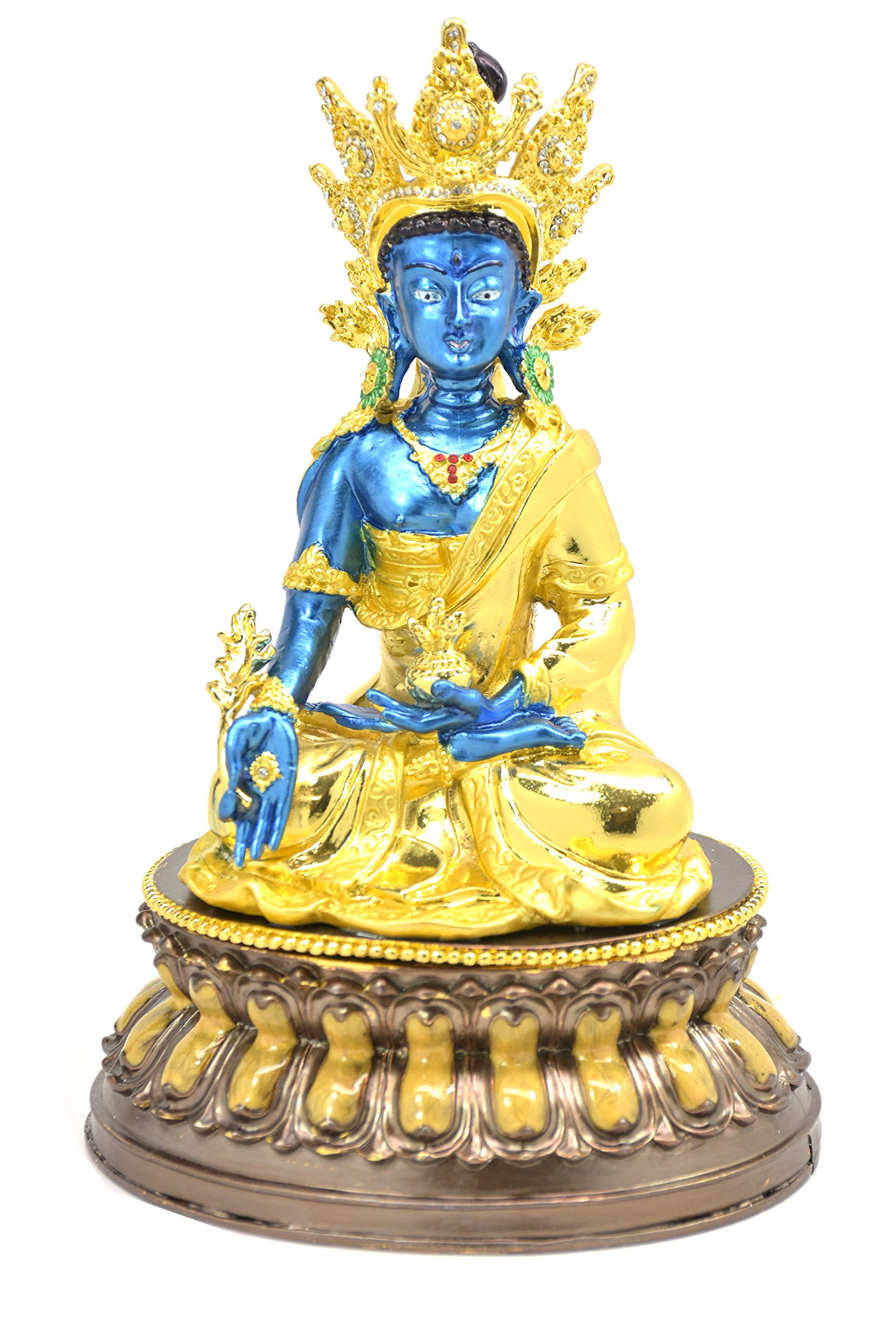 Feng Shui 2018 BEJEWELLED MEDICINE BUDDHA by Feng Shui Collection New York