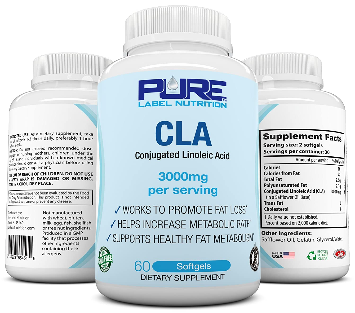 Cla Dosage For Weight Loss Blog Dandk