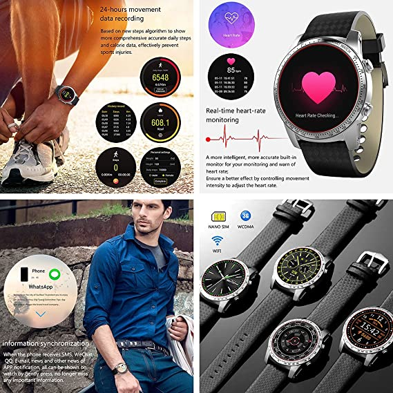 Reloj inteligente Android 5.1 WCDMA, 3G, Bluetooth 4.0, GPS, wifi ...