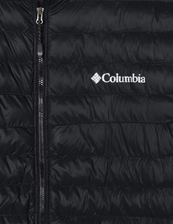 Columbia Powder Pass Chaqueta H/íbrida sin Mangas XXL Hombre Negro