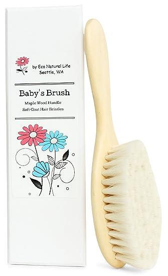 39c8f4fe1 Amazon.com   Lovely Baby Hair Brush ~ Great Baby Shower Gift For ...