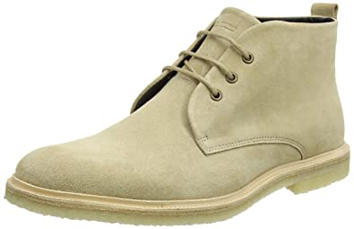 Royal Republiq Cast Crepe Midcut, Desert Boots Homme, Schwarz (Black), 41 EU