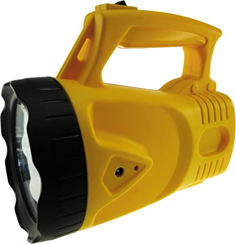 Rechargeable LED Spotlight, Model SL101 Yellow