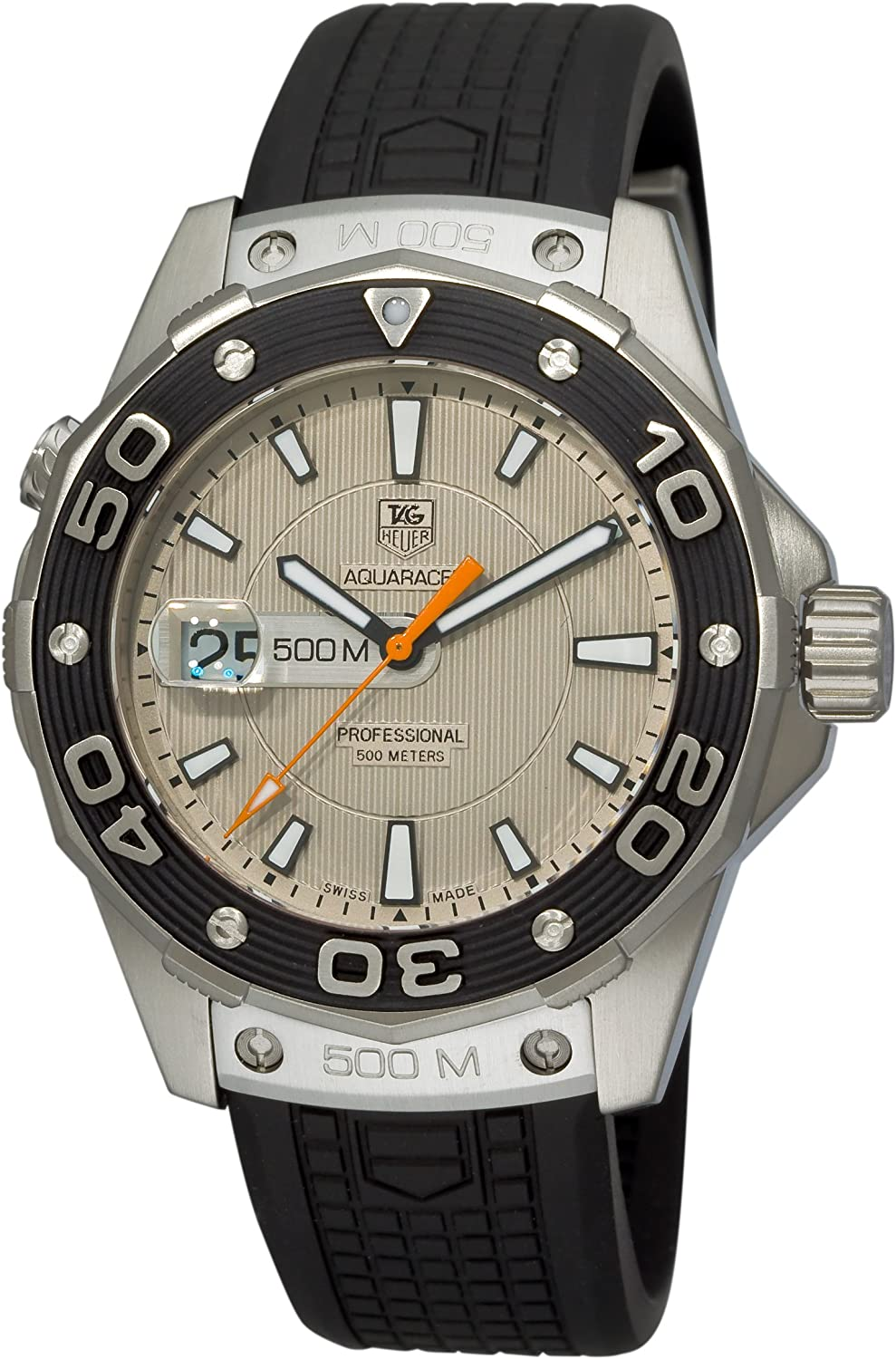TAG Heuer Men's WAJ1111.FT6015 Aquaracer 500 M Watch