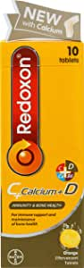 Redoxon C+Calcium+D Effervescent Tab Orange, 10ct