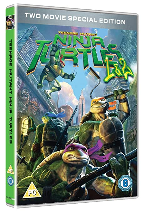 Teenage Mutant Ninja Turtles - 2 Movie Collection DVD Reino ...