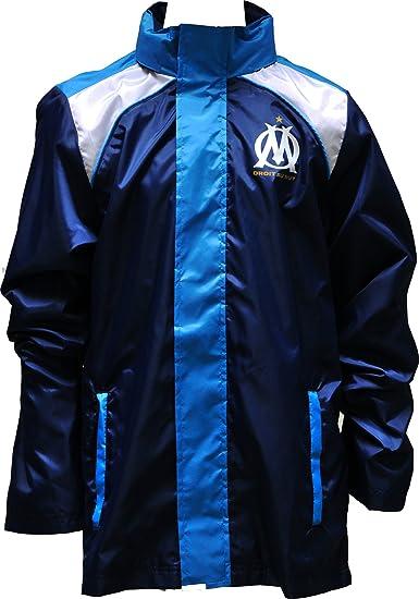 OLYMPIQUE DE MARSEILLE Coupe Vent Om Collection Officielle Football Club Ligue 1 Taille Enfant garçon