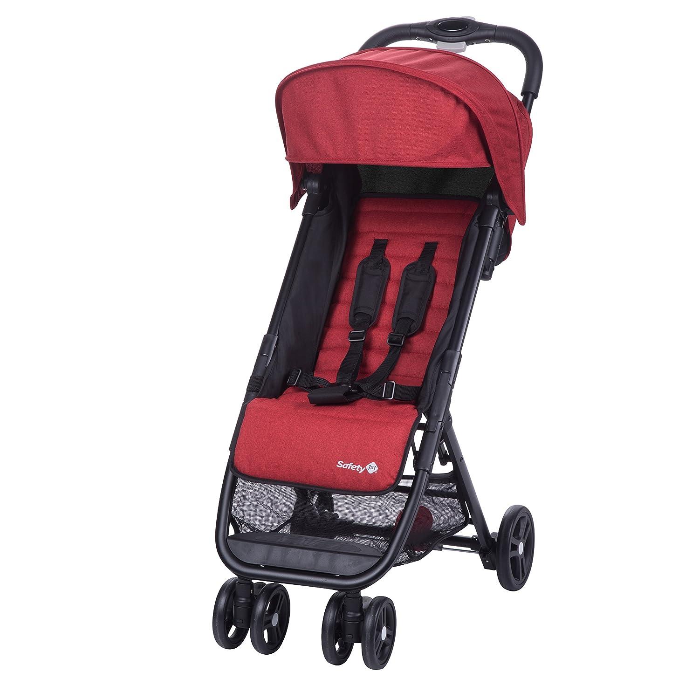 Safety 1st Poussette Canne Ultra Compacte Teeny - De la naissance à 3 ans - Ribbon Red Chic DORA3 1265668000