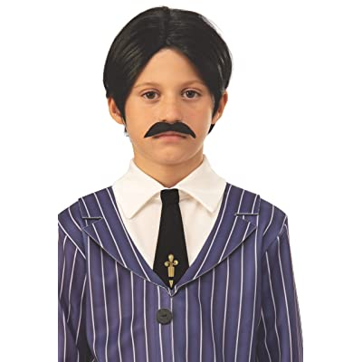 Rubie's Addams Family Animated Movie Child's Gomez Wig & Moustache, One Size: Toys & Games
