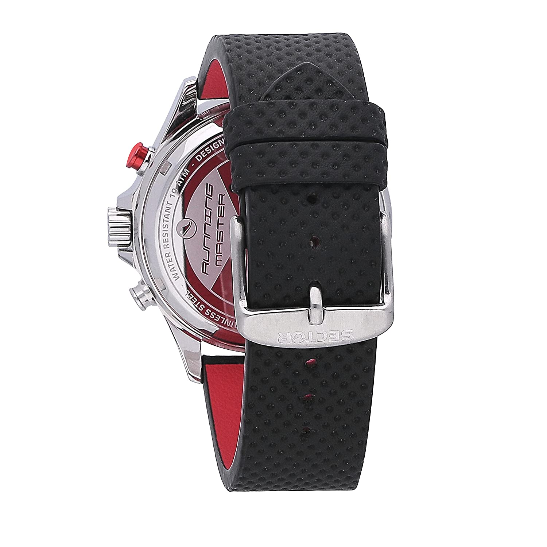 f1ad9d810c9 SECTOR NO LIMITS Herren Analog-Digital Quarz Uhr mit Leder Armband  R3271615001  Amazon.de  Uhren