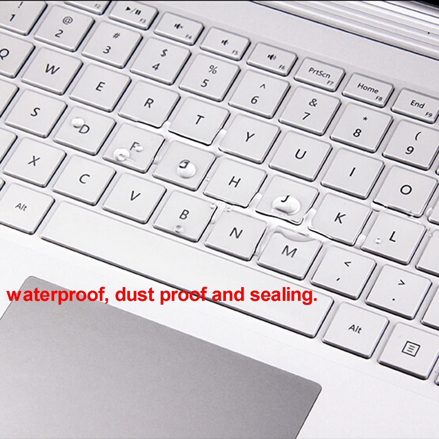 Cosmos Clear Color See Through TPU Material Keyboard Cover Skin Protector for Microsoft Surface Book