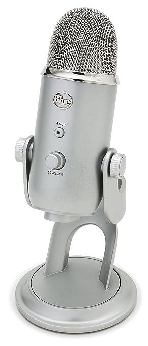 299 opinioni per Blue Microphones Yeti Microfono USB- Argento