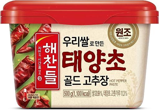 Image ofCJ Haechandle Hot Chilli Pepper Paste 500g - Gochujang (medio caliente)