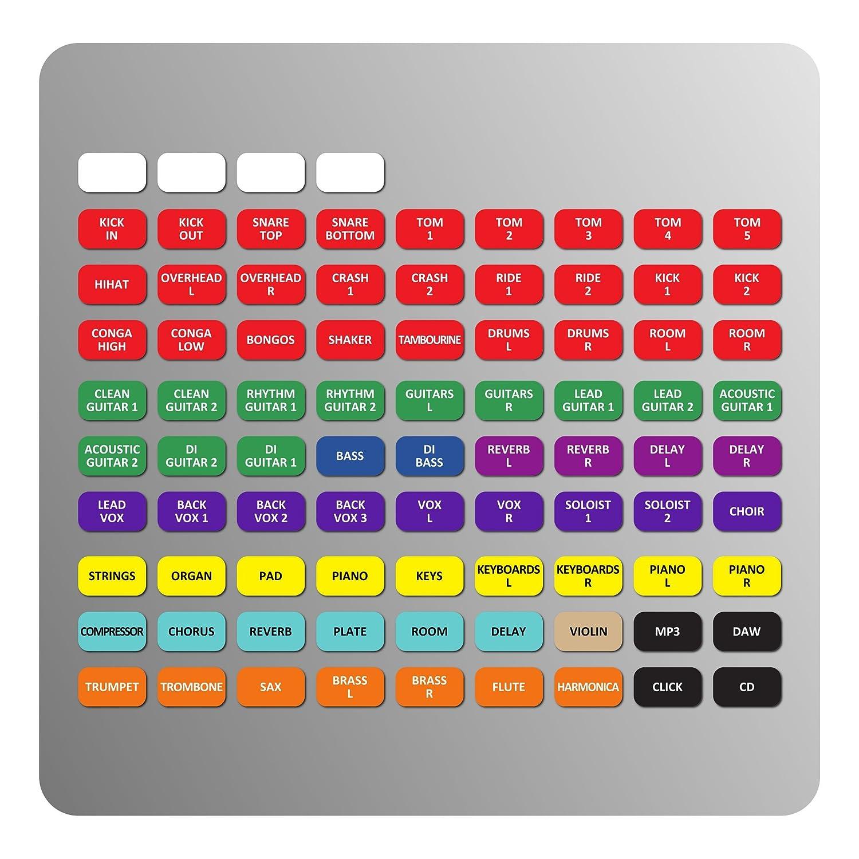 impatto, Performer, espressione Magnetica Etichette per SOUNDCRAFT Firma//Se Mixer