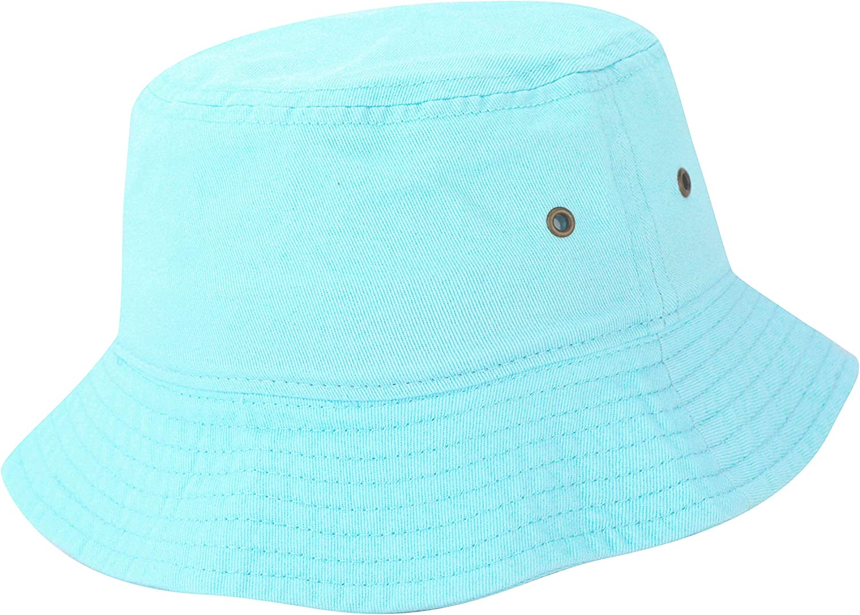 The Hat Depot 300TD 100/% Cotton Tie Dye Unisex Packable Summer Travel Bucket Hat