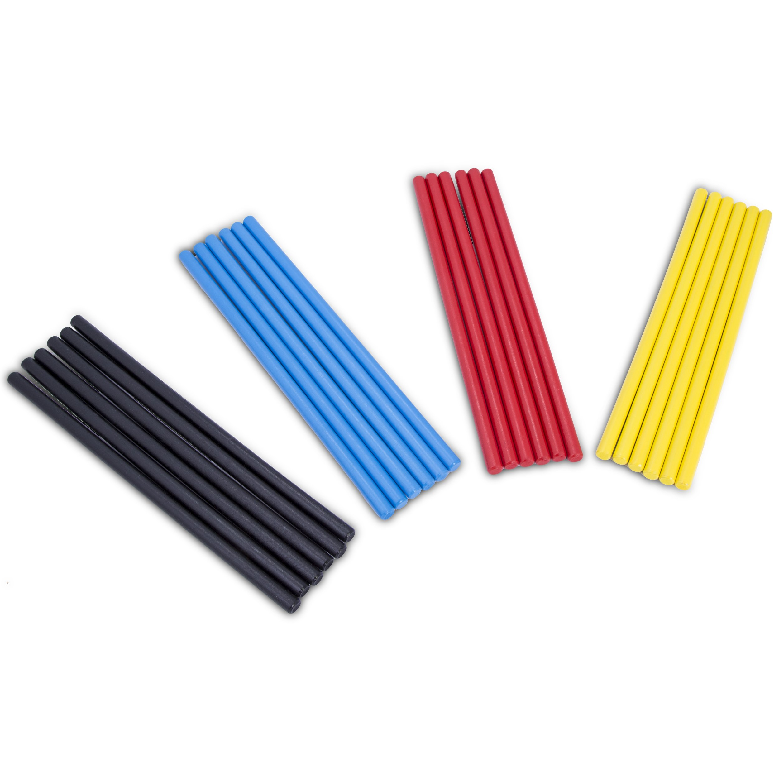 Rhythm Music Lummi Sticks - 24 Pack With Four Different Colors - Enjoyable and Economic Way To Teach Kids and Children Rhythm And Music In The Classroom