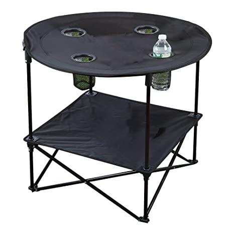 Portable Camping Side Table for Outdoor Picnic, Beach, Games, Camp, and  Patio - Amazon.com : Portable Camping Side Table For Outdoor Picnic, Beach