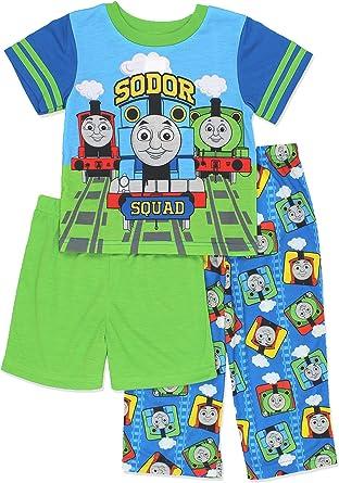 Thomas and Friends Boys 2 Piece Blue Pant Set
