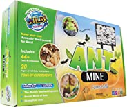 WILD! Science WS23 Ant Mine - Make Your Own Ant Farm for Ages 6+ - Includes Casting Plaster, Multi-Chamber Ant Colony Mold, V