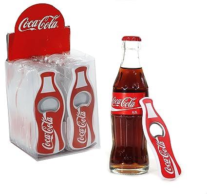5 x Coca Cola abrebotellas Abridor de botellas de Coca Cola Coca Cola con plástico umschlossenes