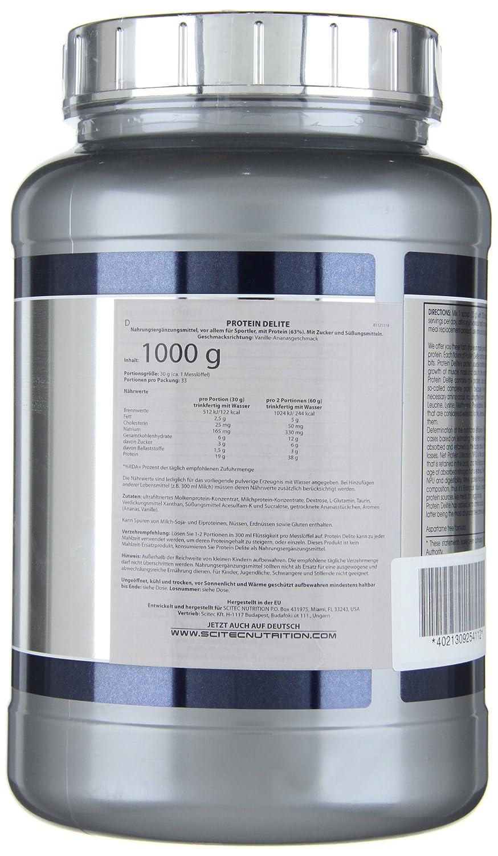 Scitec Protein Delite Batido de Proteínas - 1000 gr: Amazon.es: Alimentación y bebidas