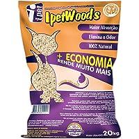 Granulado Higiênico de Madeira IPET Wood'S para Gatos 20kg IPET para Gatos